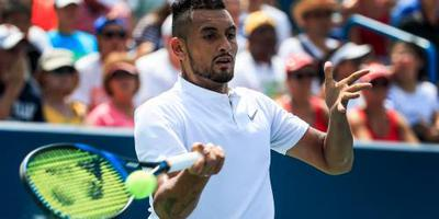 Kyrgios naar ABN Amro World Tennis Tournament