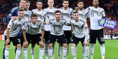 Duitsland met vijf wijzigingen tegen Fransen