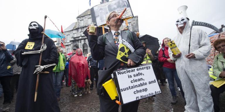 Demonstratie tegen kerncentrale Tihange