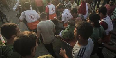 'Doden en veel gewonden bij protesten Gaza'