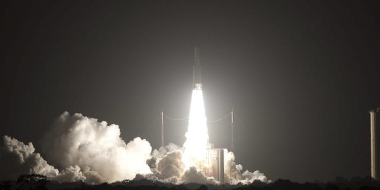 Nieuwe Europese satelliet de ruimte in