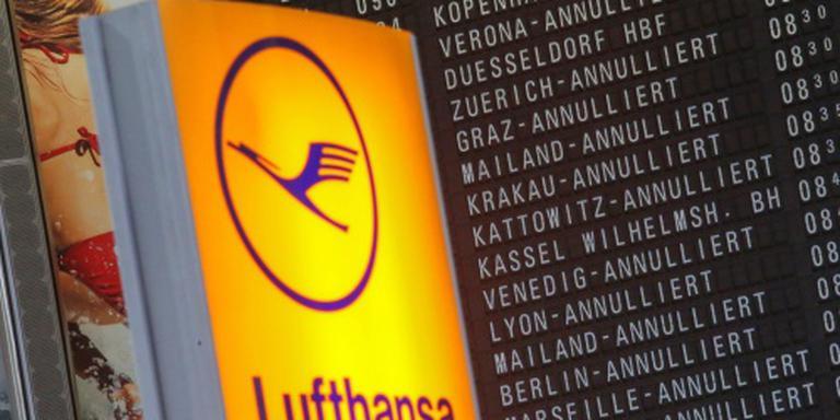 Lufthansa schrapt honderden vluchten