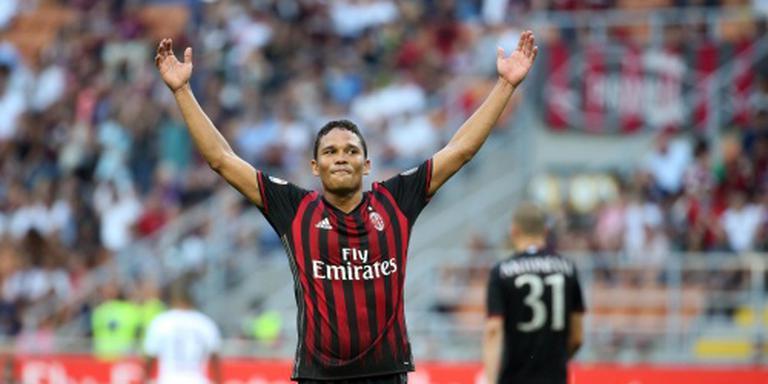 Bacca scoort driemaal voor AC Milan