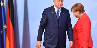Betogingen in Duitse steden tegen Erdogan