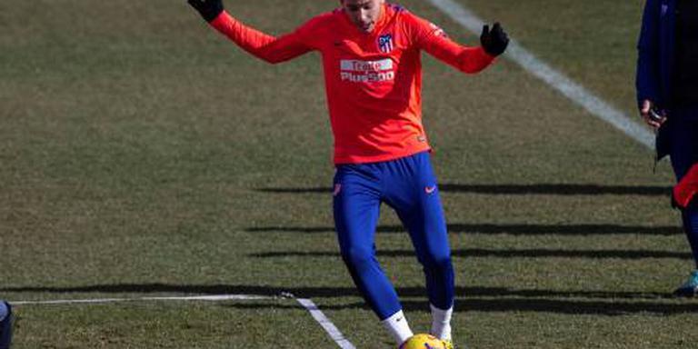 Franse international valt weg bij Atlético