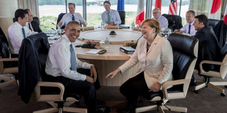 G7: 3,2 miljard euro voor Irak tegen terreur