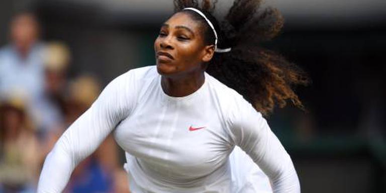 Serena Williams als moeder terug in finale