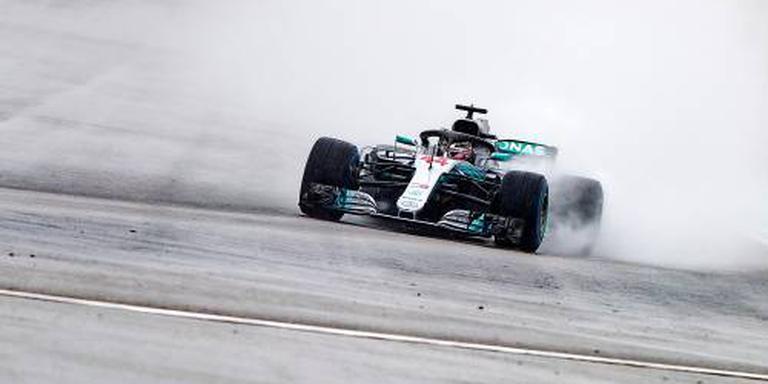 Hamilton valt uit in kwalificatie
