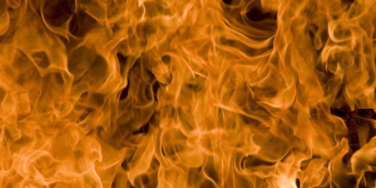 Politie pakt verdachte brandstichting op