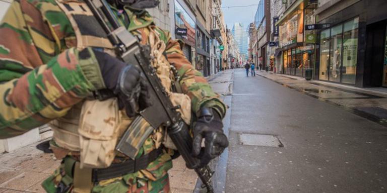 Voorlopig nog militairen op straat in Brussel