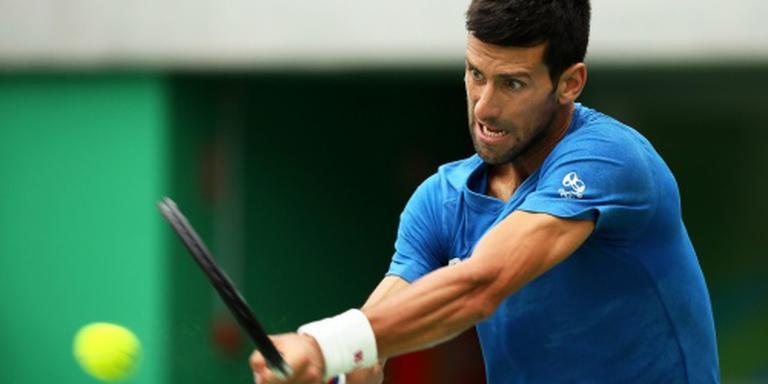 Geblesseerde Djokovic ontbreekt in Cincinnati