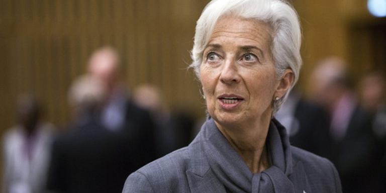 Lagarde: economisch herstel blijft te beperkt