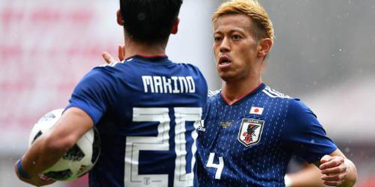 Japan verliest uitzwaaiduel voor WK