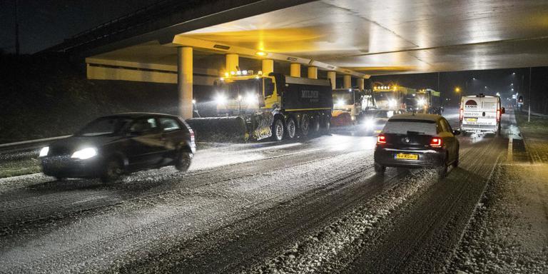 Rijkswaterstaat: zeer gevaarlijk op de weg