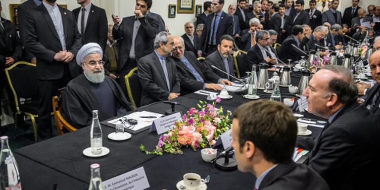 Iraanse president in Parijs