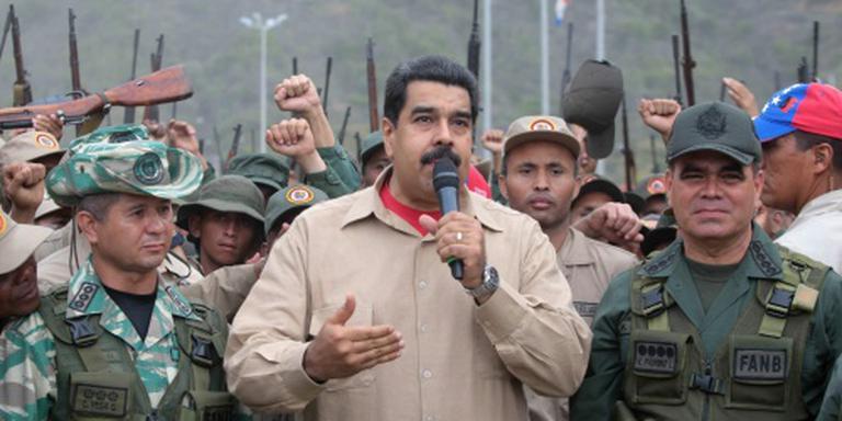 Oppositie Venezuela hekelt legeroefeningen