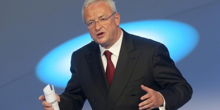 Justitie onderzoekt oud-topman Volkswagen