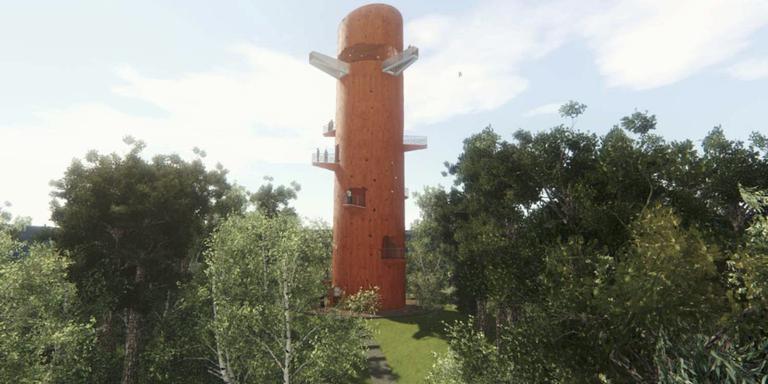 Toren appelscha straks voor waaghalzen friesland - Toren voor pergola ...
