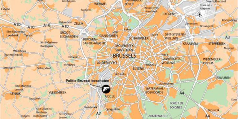 Politie Brussel valt woning binnen