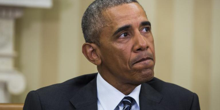 Obama bezoekt nabestaanden bloedbad Orlando
