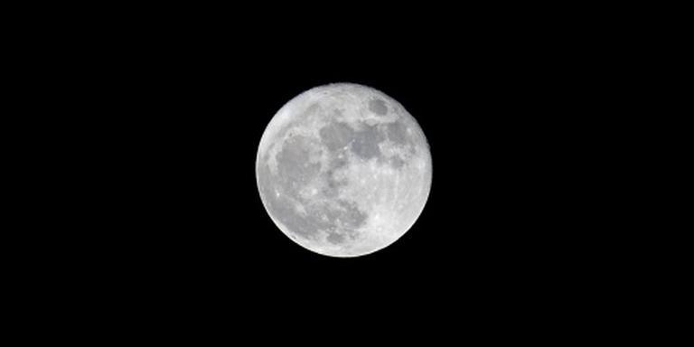 'Zeldzame volle maan met kerst'