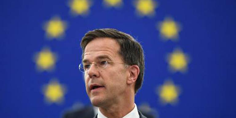 Rutte geen kandidaat voor topfunctie EU
