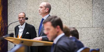 Motie van afkeuring oppositie om Teeven-deal
