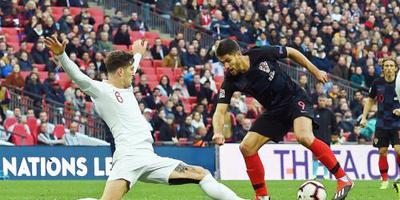 Engeland groepswinnaar na zege op Kroatië