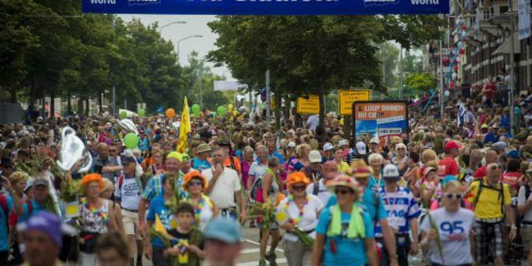 50.000 deelnemers welkom bij Vierdaagse