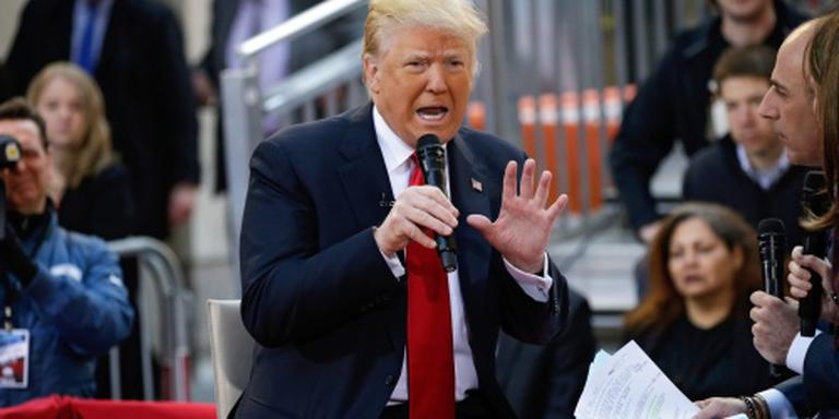 Trump noemt samenwerking rivalen 'zielig'