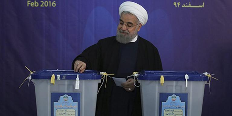Eerste winst binnen voor Rohani