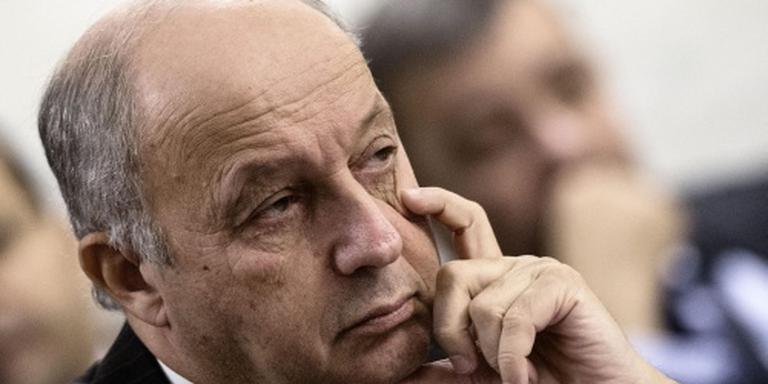 Franse buitenlandminister Fabius stapt op