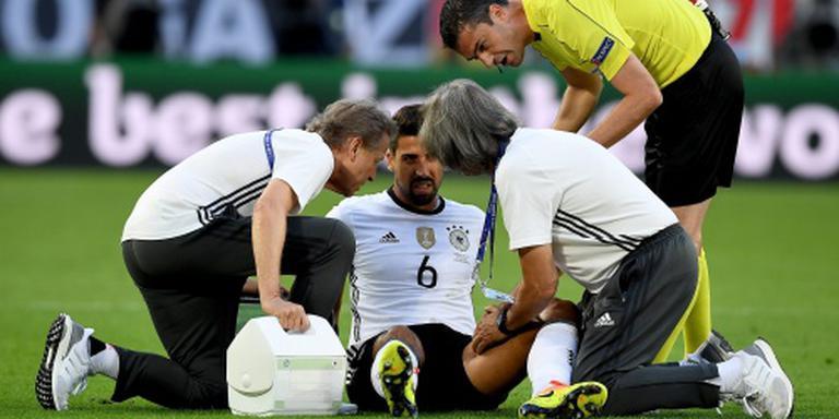 'Einde EK voor Duitser Khedira'