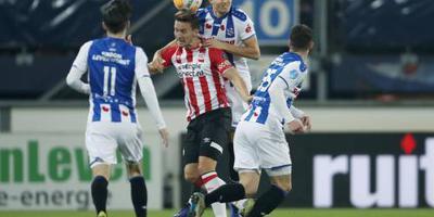 De coach baalde als een stekker van het late gelijkspel tegen PSV.