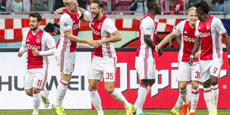 Ajax kan AZ dienst bewijzen