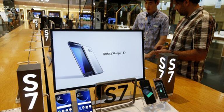 Samsung profiteert van succes Galaxy S7