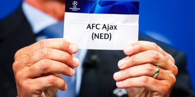 Ajax treft Real Madrid in achtste finales