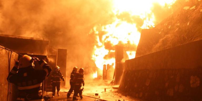 Branden teisteren Chinese provincie Guizhou