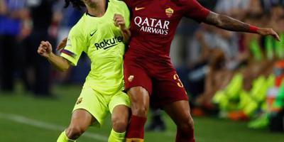 Kluivert van tribune naar basis bij AS Roma