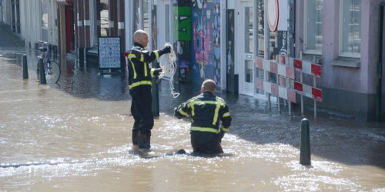 Urenlange wateroverlast Den Haag voorbij