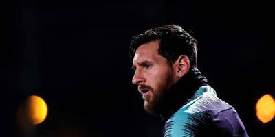Messi niet in selectie voor bekerwedstrijd