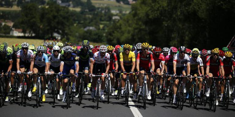 Col d'Aspin wacht op renners in Tour