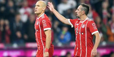 Bayern met Robben en Ribéry