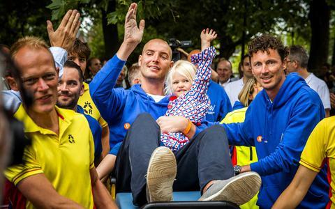 Maarten van der Weijden: 'Ik weet nog dat ik droomde dat ik zwom'