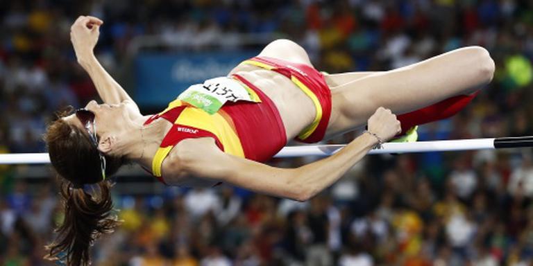 Hoogspringgoud naar Spaanse atlete Beitia