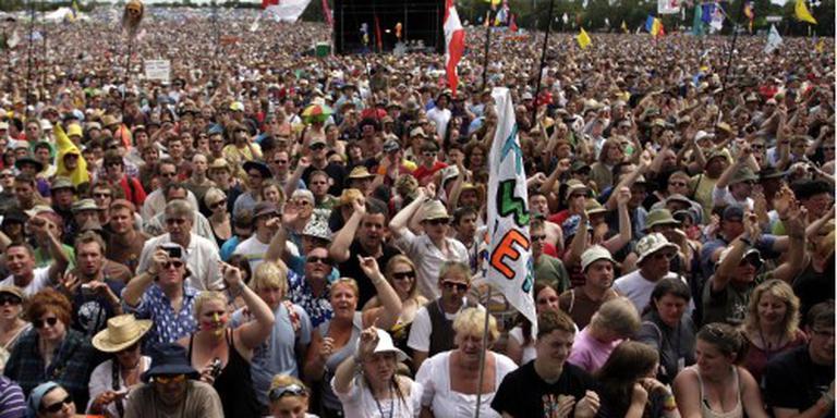 Organisatie Glastonbury Festival: kom niet