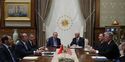 Deal Erdogan en Pence over rustperiode Syrië