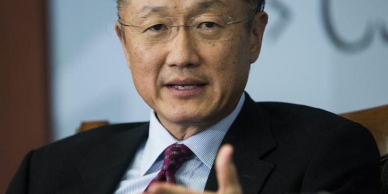 Wereldbank-president Kim wil nieuwe termijn
