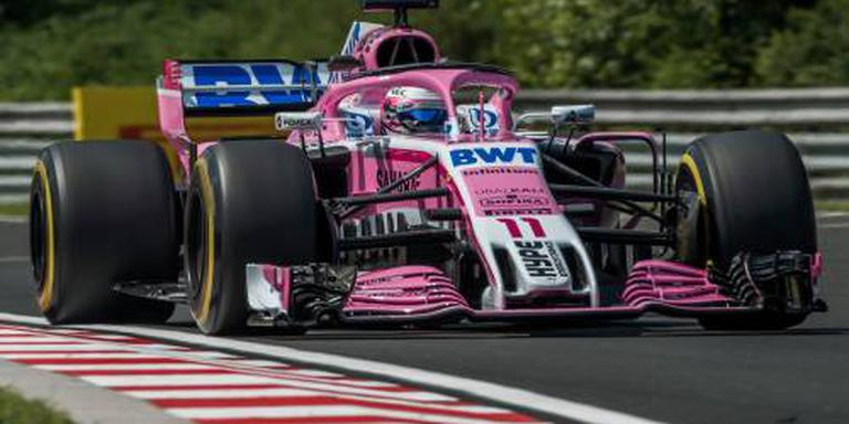 F1-team Force India economisch in zwaar weer