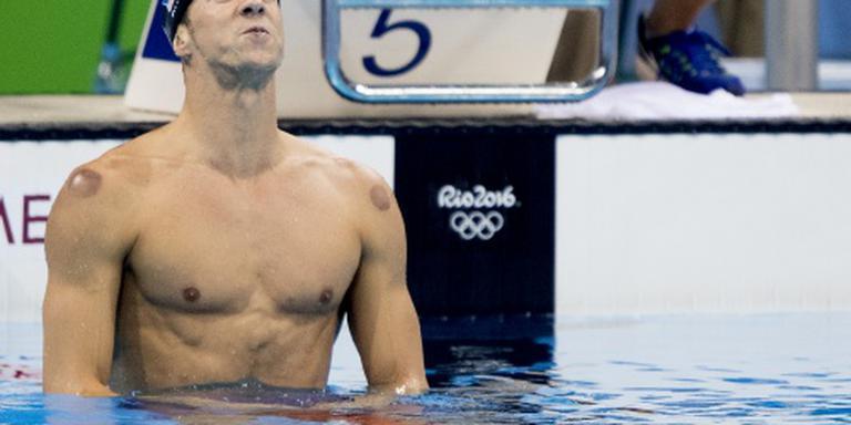 Phelps heeft titel op 200 vlinder terug